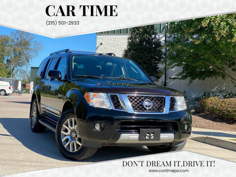 2012 Nissan Pathfinder for sale at Car Time in Philadelphia PA