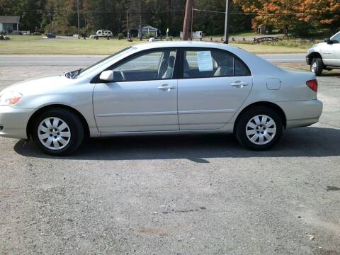 2003 Toyota Corolla for sale at On The Road Again Auto Sales in Lake Ariel PA