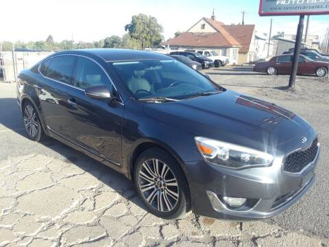 2015 Kia Cadenza for sale at Sunset Auto Body in Sunset UT