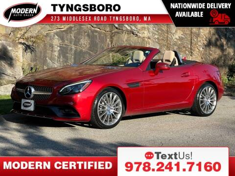 2017 Mercedes-Benz SLC for sale at Modern Auto Sales in Tyngsboro MA