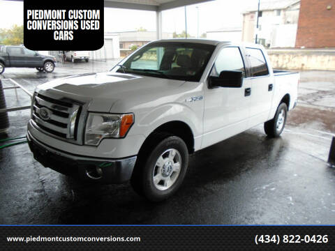 2011 Ford F-150 for sale at PIEDMONT CUSTOM CONVERSIONS USED CARS in Danville VA
