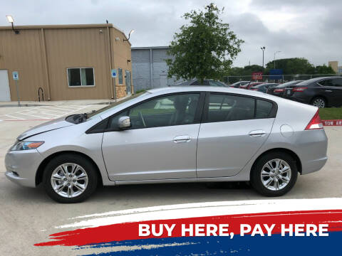 2010 Honda Insight for sale at HI SOLUTIONS AUTO in Houston TX