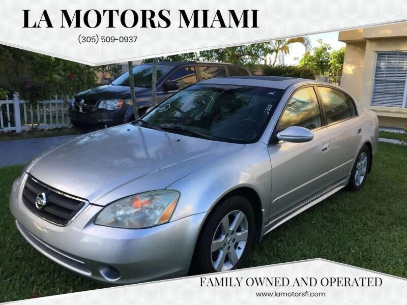 2003 Nissan Altima for sale at LA Motors Miami in Miami FL
