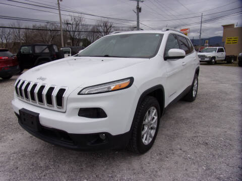 2016 Jeep Cherokee for sale at RAY'S AUTO SALES INC in Jacksboro TN