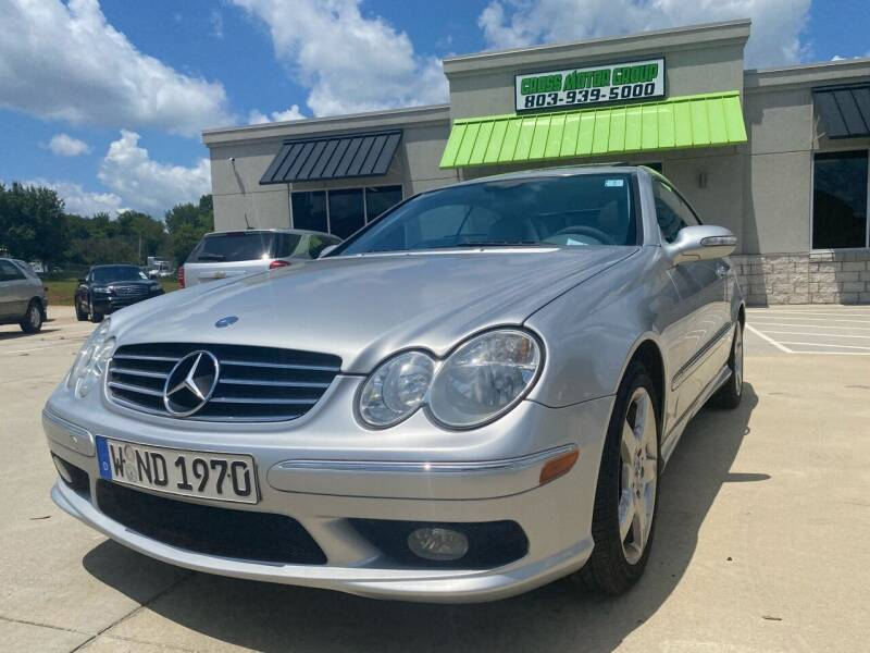 2005 Mercedes-Benz CLK for sale at Cross Motor Group in Rock Hill SC