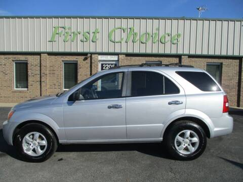 2007 Kia Sorento for sale at First Choice Auto in Greenville SC