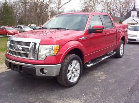2009 Ford F-150 for sale at LAKESIDE MOTORS LLC in Houghton Lake MI