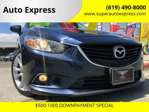 2016 Mazda MAZDA6 for sale at Auto Express in Chula Vista CA