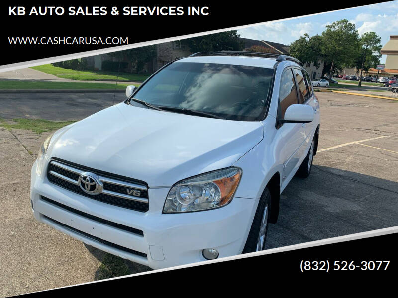 2008 Toyota RAV4 for sale at KB AUTO SALES & SERVICES INC in Houston TX