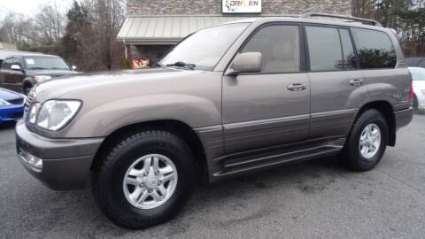 2000 Lexus LX 470 for sale at Driven Pre-Owned in Lenoir NC