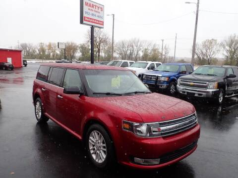 2016 Ford Flex for sale at Marty's Auto Sales in Savage MN