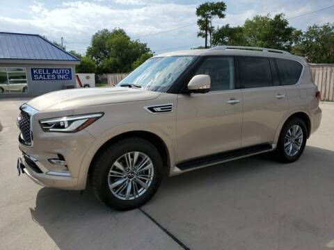 2019 Infiniti QX80 for sale at Kell Auto Sales, Inc - Grace Street in Wichita Falls TX