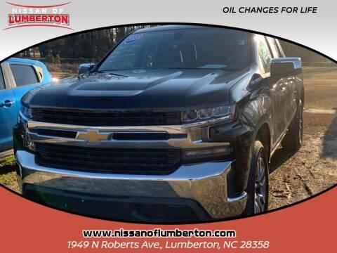 2020 Chevrolet Silverado 1500 for sale at Nissan of Lumberton in Lumberton NC