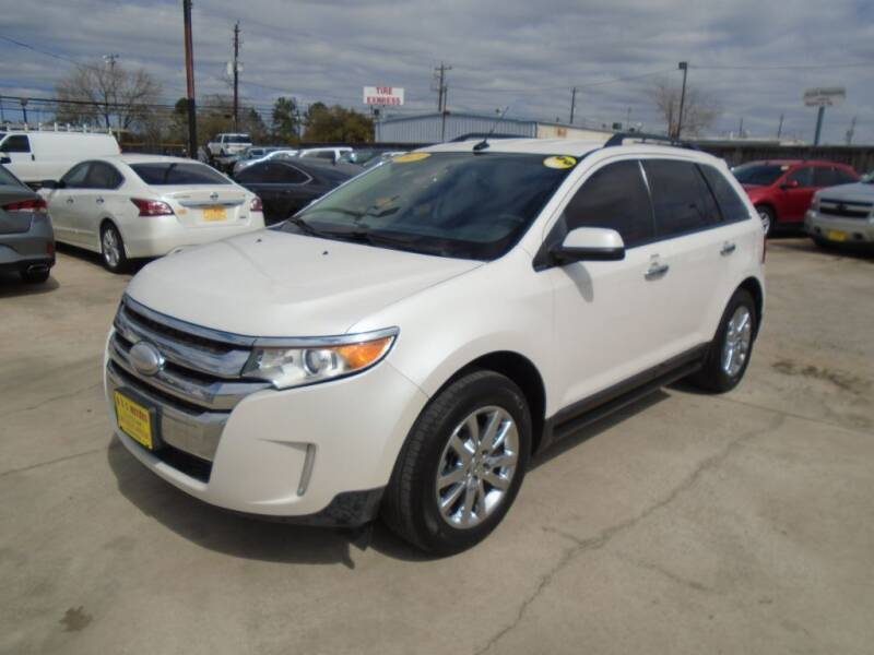 2013 Ford Edge for sale at BAS MOTORS in Houston TX