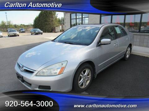2006 Honda Accord for sale at Carlton Automotive Inc in Oostburg WI