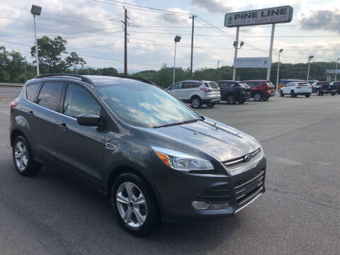 2016 Ford Escape for sale at Pine Line Auto in Olyphant PA