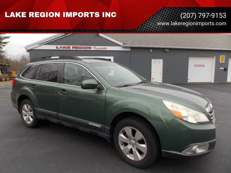 2011 Subaru Outback for sale at LAKE REGION IMPORTS INC in Westbrook ME
