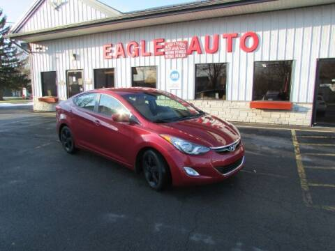 2013 Hyundai Elantra for sale at Eagle Auto Center in Seneca Falls NY