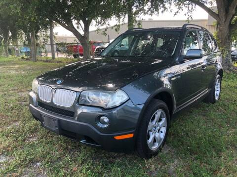 2007 BMW X3 for sale at EXECUTIVE CAR SALES LLC in North Fort Myers FL