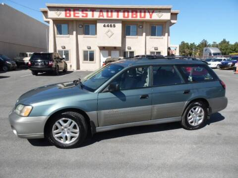 2001 Subaru Outback for sale at Best Auto Buy in Las Vegas NV