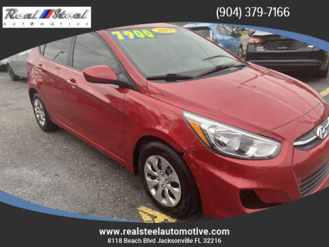 2017 Hyundai Accent for sale at Real Steel Automotive in Jacksonville FL