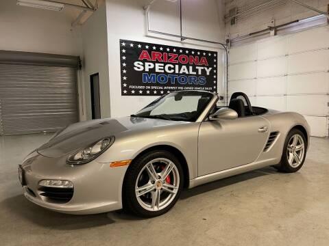 2010 Porsche Boxster for sale at Arizona Specialty Motors in Tempe AZ