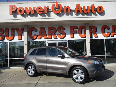 2008 Acura RDX for sale at Power On Auto LLC in Monroe NC