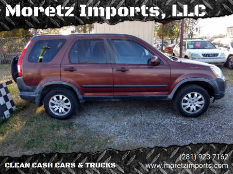 2006 Honda CR-V for sale at Moretz Imports, LLC in Spring TX