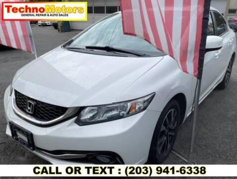 2013 Honda Civic for sale at Techno Motors in Danbury CT