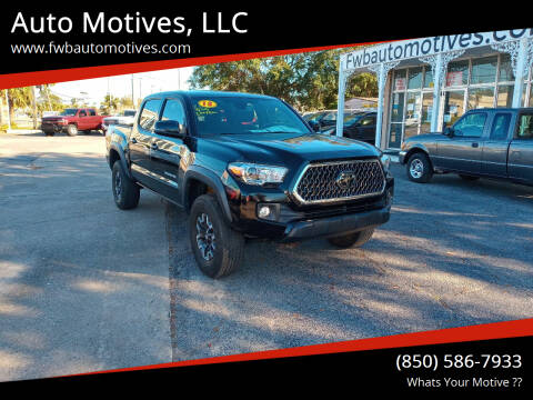 2018 Toyota Tacoma for sale at Auto Motives, LLC in Fort Walton Beach FL