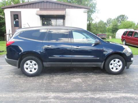 2010 Chevrolet Traverse for sale at Knauff & Sons Motor Sales in New Vienna OH