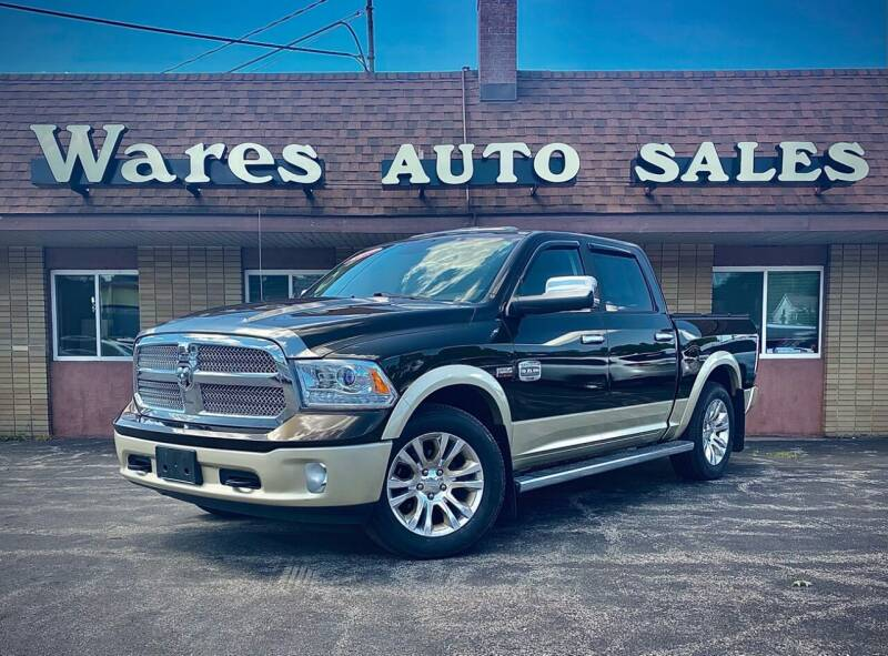 2013 RAM Ram Pickup 1500 for sale at Wares Auto Sales INC in Traverse City MI