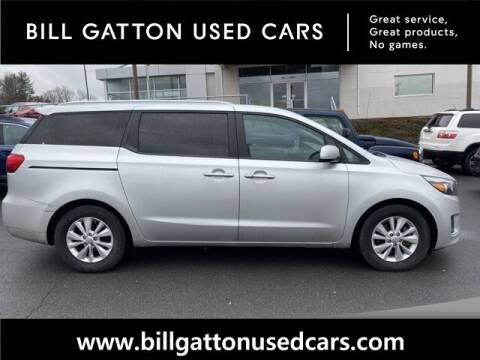 2017 Kia Sedona for sale at Bill Gatton Used Cars in Johnson City TN