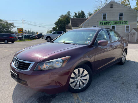 2009 Honda Accord for sale at J's Auto Exchange in Derry NH