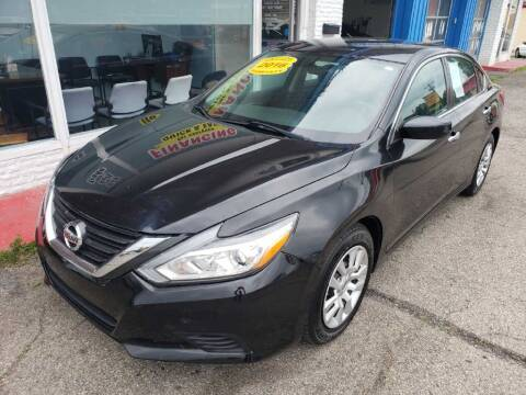 2016 Nissan Altima for sale at AutoMotion Sales in Franklin OH