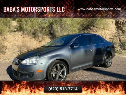 2008 Volkswagen Jetta for sale at Baba's Motorsports, LLC in Phoenix AZ