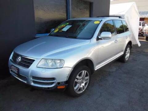 2005 Volkswagen Touareg for sale at Top Notch Auto Sales in San Jose CA