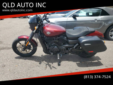 2015 Harley-Davidson XG500 for sale at QLD AUTO INC in Tampa FL