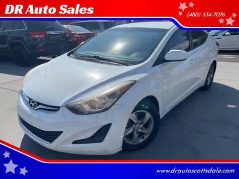 2014 Hyundai Elantra for sale at DR Auto Sales in Scottsdale AZ