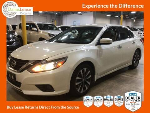 2016 Nissan Altima for sale at Dallas Auto Finance in Dallas TX