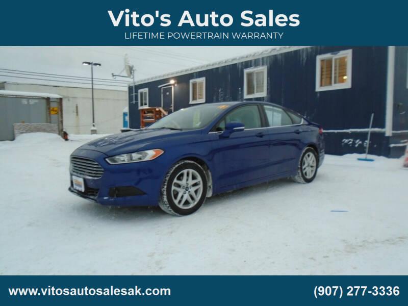 2013 Ford Fusion for sale at Vito's Auto Sales in Anchorage AK