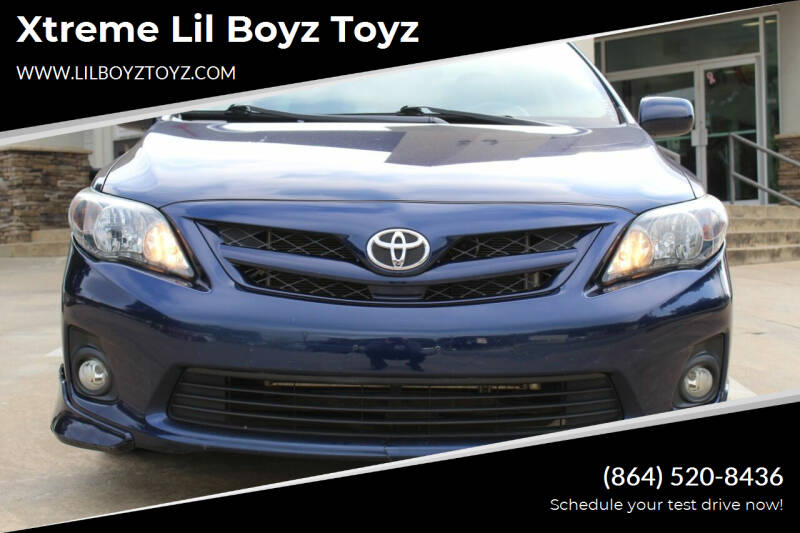 2013 Toyota Corolla for sale at Xtreme Lil Boyz Toyz in Greenville SC