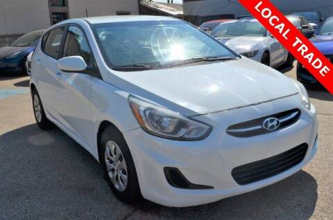 2015 Hyundai Accent for sale at LAKESIDE MOTORS, INC. in Sachse TX