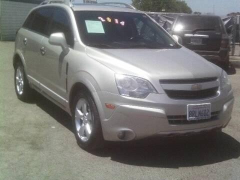2014 Chevrolet Captiva Sport for sale at Valley Auto Sales & Advanced Equipment in Stockton CA