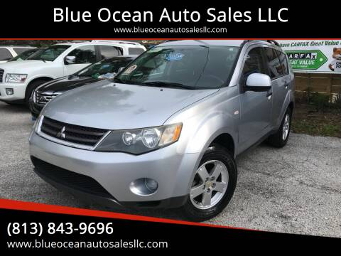2007 Mitsubishi Outlander for sale at Blue Ocean Auto Sales LLC in Tampa FL