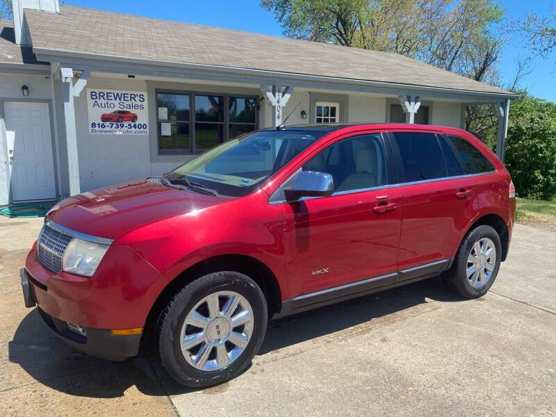 2007 Lincoln MKX for sale at Brewer's Auto Sales in Greenwood MO