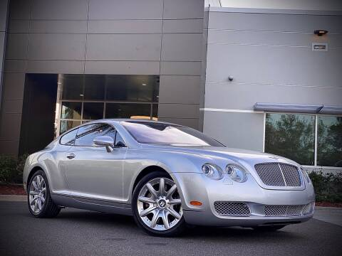 2005 Bentley Continental for sale at FALCON AUTO BROKERS LLC in Orlando FL