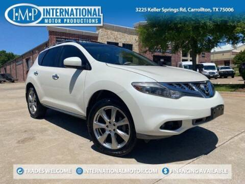 2014 Nissan Murano for sale at International Motor Productions in Carrollton TX