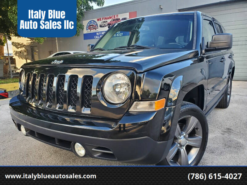 2016 Jeep Patriot for sale at Italy Blue Auto Sales llc in Miami FL