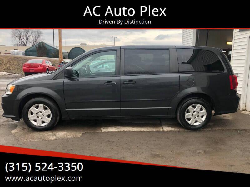 2011 Dodge Grand Caravan for sale at AC Auto Plex in Ontario NY